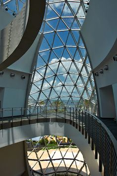 The Dali Museum. St. Petersburg, Florida. USA. Photo by Andy New.