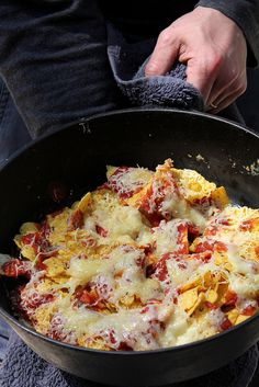 camp food - nachos