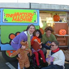 Scooby Doo Trunk or Treat Cute idea for a family Halloween theme and Christian friendly