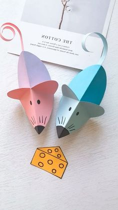 16 Simply Creative Paper Animal Crafts For Kids <br> Paper Animal Crafts, Animal Crafts For Kids, Paper Animals, Paper Crafts Origami, Paper Crafts For Kids, Origami Art, Toddler Crafts, Paper Crafting, Fun Crafts