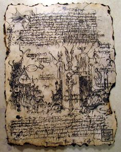 Make: Projects – Pages of a forbidden tome   MAKE