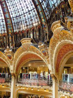 Galleries Lafayette, Paris by williamcho, via Flickr