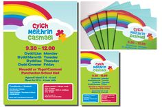Playgroup poster and flyer design