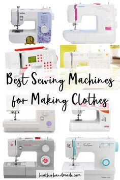 Compare these machines to find the best sewing machine for making clothes. Pick one that fits your budget since these machines are perfect for beginners. When you are making clothes the most important…Plus Sewing Blogs, Sewing Basics, Easy Sewing Projects, Sewing Projects For Beginners, Sewing Hacks, Sewing Tutorials, Sewing Tips, Felt Projects, Baby Lock Sewing Machine