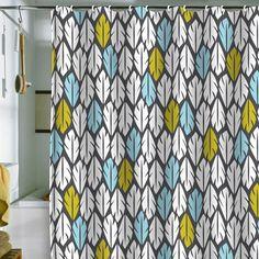 Folair Shower Curtain multi, bath textiles, deny designs
