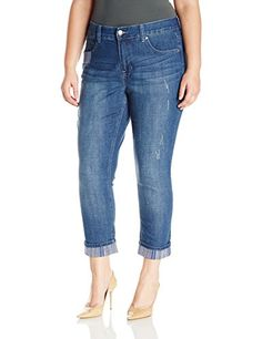 Melissa McCarthy Seven7 Women's Plus Size Girlfriend Jean * Review ...