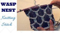 Wasp Nest / Honeycomb Knitting Pattern