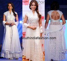 Bipasha in White Anarkali