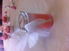 Tutu cute baby shower favor lavender sugar body scrub