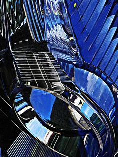 Auto Headlight 71   by S Loft  #reflectionphotography #abstract