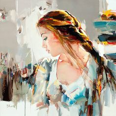 Art, expressiveness and beauty! by Josef Kote - I adore this!