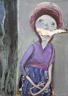 Waldemar Zimbelmann Untitled, 2012 mixed media on canvas 70 x 50 cm