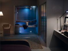 sauna sky effegibi blaue ambientbeleluchtung modernes design