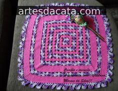 Croche, Artesanato, Tapetes de croche, Bicos, Patchwork, Flores, Jardim... Enfim, de tudo um pouco!