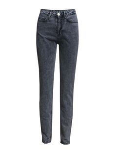 DAY - Flash Flow Stone washed High-waisted Skinny fit Creates a cool, minimalist & edgy look with raw details. Edgy Look, Skinny Fit, Indigo, Flow, Minimalist, Sweatpants, Stone, Cool Stuff, Day