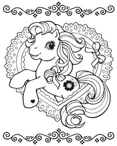 Free My Little Pony Coloring Pages - Coloring Home Horse Coloring Pages, Unicorn Coloring Pages, Disney Coloring Pages, Colouring Pages, Printable Coloring Pages, Adult Coloring Pages, Coloring Books, Kids Colouring, My Little Pony Birthday