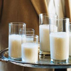 Besh Brandy or Bourbon Milk Punch