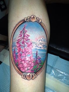 Alaska Tattoo with Compass Rose by Justin Winter Seattle ...