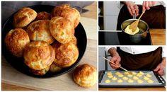 Aprende a hacer los Gougères, los deliciosos panecillos de queso franceses
