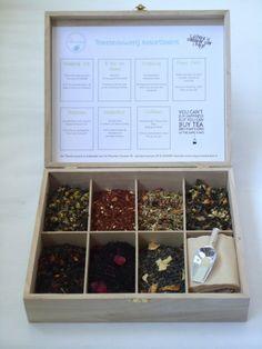 Thee cadeau, of op je eigen high tea? De 'Ik kan niet kiezen' theebox
