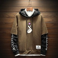 Trendy Boy Outfits, Dope Outfits For Guys, Cool Outfits, Stylish Hoodies, Cool Hoodies, Streetwear, New T Shirt Design, Harajuku Fashion, Mens Clothing Styles