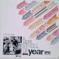 First Stroll of the Year by adriasmith21 from our Scrapbooking Gallery originally submitted 05/05/13 at 02:28 PM