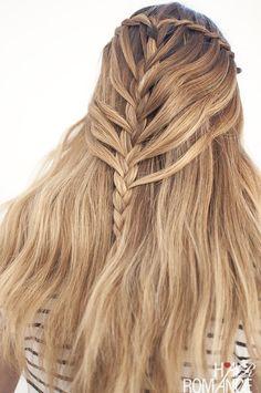 Waterfall Mermaid Braid Tutorial for Long Hair