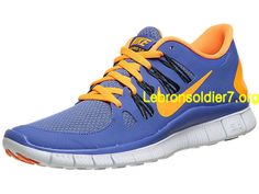 Nike Free 5.0+ Violet Citrus Anthracite Purple 580591 580