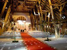 Feiern auf Gut Schönau in der restaurierten Bismarckscheune