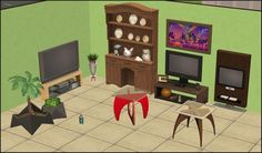 Hi guys again! Here's some stuff which doesn't belong to any of my sets, so I upload it just as load 2. The cabinet is from the Provance…