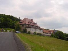 Kreuzberg Monastery near Wildflecken, Germany. Very popular place - monks brewed and sold beer here.