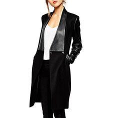 Chicnova Women Splicing Blazer Style Long Slim Fit PU Faux Fur Lether Jacket (S, Black) Chicnova http://www.amazon.com/dp/B01936G9O2/ref=cm_sw_r_pi_dp_c249wb0F6W54T