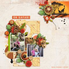 Template: Autumn Glory by Dagi's Temp-tations http://store.gingerscraps.net/Autumn-Glory.html  Kit: Escape to Africa by WendyP Designs http://www.digitalscrapbookingstudio.com/personal-use/bundled-deals/escape-to-africa-bundled-collection/