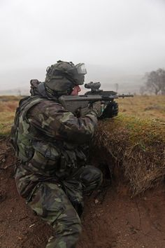 Irish 130 Defence Forces soldiers from the 48th Infantry Group entering the final phase of intense training in preparation for their forthcoming deployment to the United Nations Disengagement Observation Force, (UNDOF) based in the Golan Heights. March 12, 2015