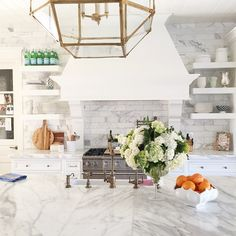 Rach Parcell of Pink Peonies is selling her house Beautiful Kitchens, Beautiful Homes, Gray Interior, Interior Design, Kitchen Decor, Kitchen Design, Kitchen Ideas, Floating, Pink Peonies