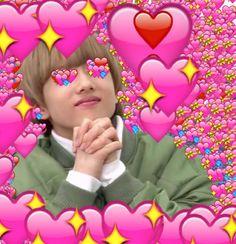 next door ➳ nct ✓ Kpop Memes, Dankest Memes, Funny Memes, Bangtan V, Heart Meme, Heart Emoji, Bts Meme Faces, Cute Love Memes, Jisung Nct