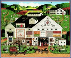 by Charles Wysocki ...I  love this one!!!! http://pinterest.com/pin/497436721311578722/repin/