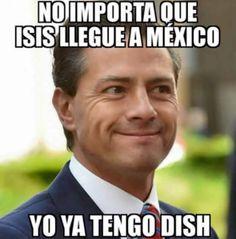 No importa que ISIS llegue a México...