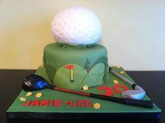 Golf Theme- Red Velvet Cake w/ Cream Cheese