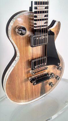 Miniature Guitar Gibson Les Paul Acrylic glass by OferEdinburgh https://www.etsy.com/il-en/shop/OferEdinburgh?ref=hdr_shop_menu