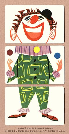 'Juggling Clown' from Mixies® by Ed-U-Cards