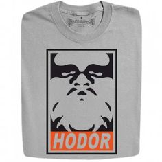 New Hodor Sketch Inspired By Game Of Thrones Funny Design T- Shirt And Hoodies