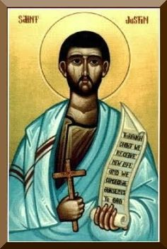 :: Saint Justin the Martyr of Nablus, Palestine :: one of the first and greatest Christian philosophers (the bible did not even exist at this time).