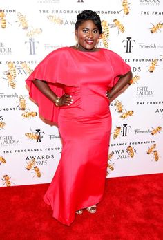 Danielle Brooks attends the 2015 Fragrance Foundation Awards at Alice Tully Hall at Lincoln Center on June 17, 2015