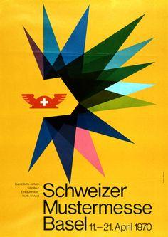 Beatrice Afflerbach, Schweizer Mustermesse Basel, 1970