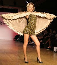 For women who like to show off their wingspans.