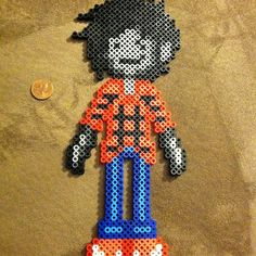 Adventure Time Marshall Lee perler beads by michelangelo104