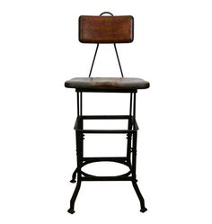 $575.00  Hardworking Sit-Rite Stool by the Wisconsin Chair Co C1930