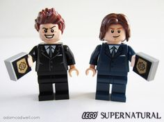 Lego Supernatural! Awesome sauce.