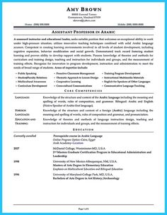 Assistant Teacher Resume There Are Several Parts Of Assistant Teacher Resume To Concern